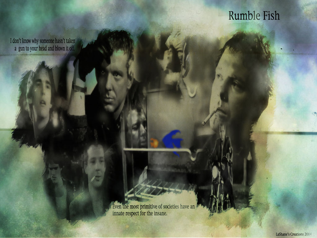 Rumble fish image for Rumble fish summary